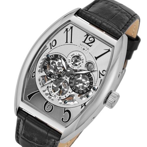 ゾンネ SONNE ハオリ HAORI 自動巻き メンズ 腕時計 H015SS-BK シルバー