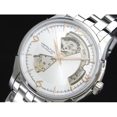 ハミルトン ジャズマスター オープンハート 自動巻き メンズ 腕時計 h32565155