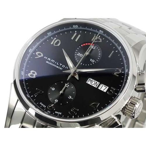 ハミルトン HAMILTON メンズ ジャズマスター マエストロ クロノグラフ 自動巻き 腕時計 H32576135