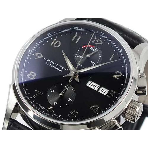 ハミルトン HAMILTON ジャズマスター マエストロ クロノグラフ 自動巻き メンズ 腕時計 H32576735