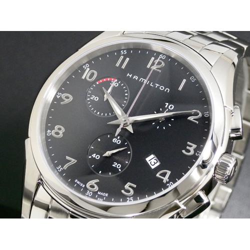 ハミルトン HAMILTON ジャズマスター シンラインクロノ メンズ 腕時計 H38612133