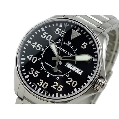 ハミルトン HAMILTON メンズ カーキ パイロット 自動巻 腕時計 H64425135