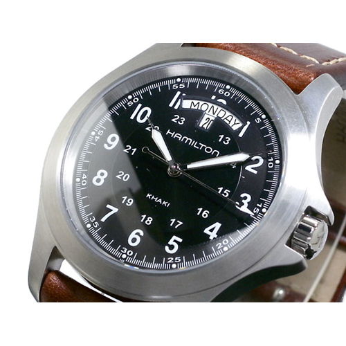 ハミルトン HAMILTON メンズ カーキキング 腕時計 H64451533