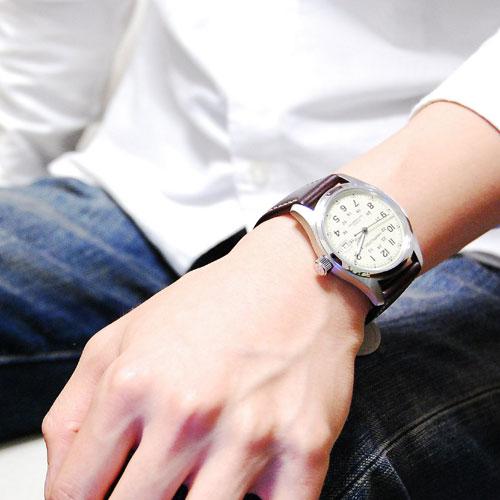 ハミルトン HAMILTON カーキ KHAKI フィールド 自動巻き メンズ 腕時計 H70455523
