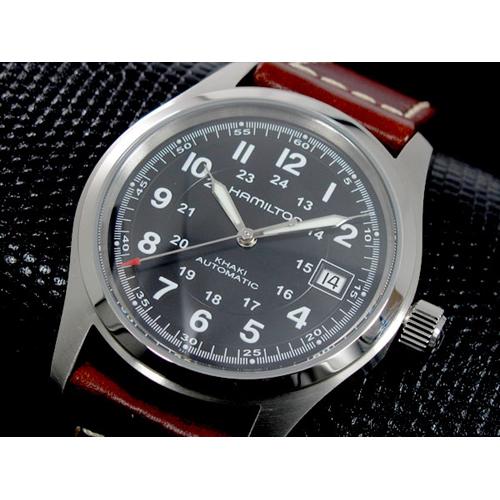 ハミルトン メンズ カーキフィールド オート 自動巻き 腕時計 H70455533