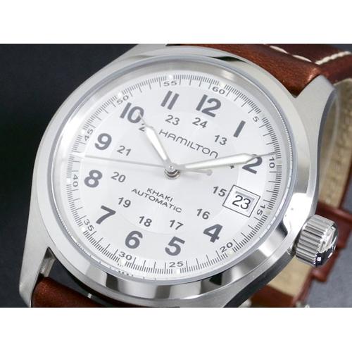 ハミルトン HAMILTON メンズ カーキフィールド オート 自動巻き 腕時計 H70455553