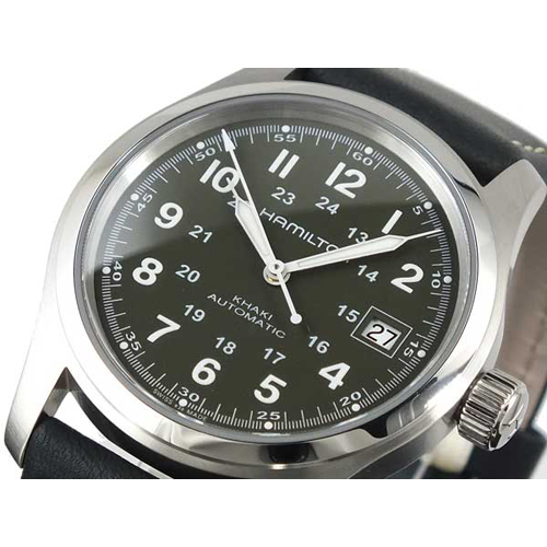 ハミルトン HAMILTON メンズ カーキ KHAKI フィールド 自動巻き 腕時計 H70455863