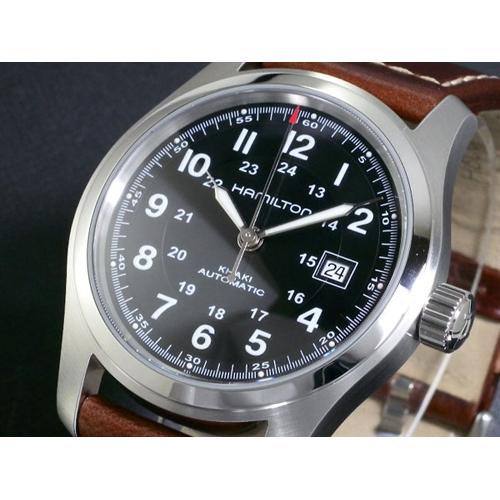 ハミルトン HAMILTON メンズ カーキフィールド オート 自動巻き 腕時計 H70555533