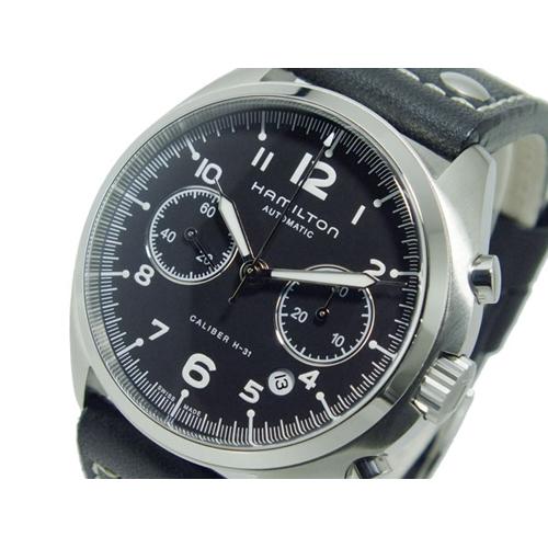 ハミルトン HAMILTON カーキ パイロット パイオニア クロノグラフ 自動巻 メンズ 腕時計 H76416735