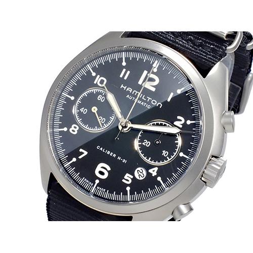 ハミルトン HAMILTON カーキ パイロット パイオニア クロノグラフ 自動巻き メンズ 腕時計 H76456435
