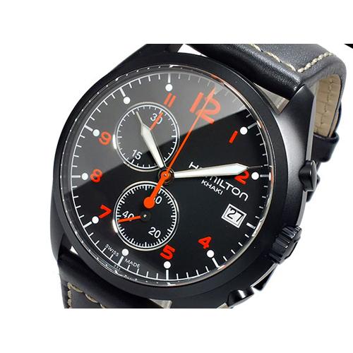 ハミルトン HAMILTON カーキ パイロット パイオニア クロノ クオーツ メンズ 腕時計 クロノグラフ H76582733
