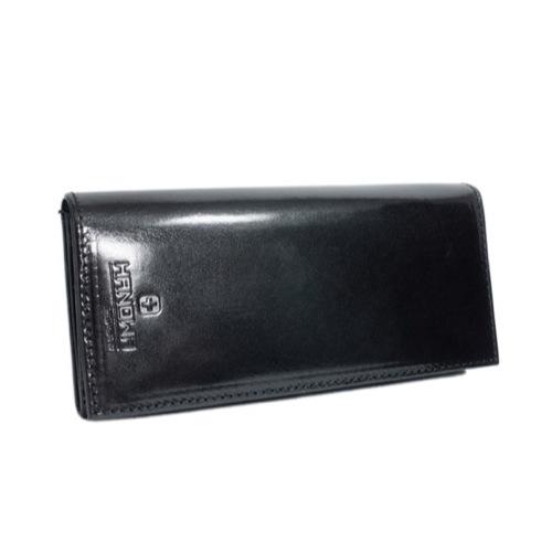スイスミリタリー・ハノワ SWISSMILLITARY HANOWA メンズ 長財布 HA-41102-10 ブラック