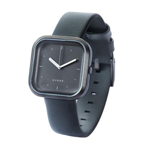 ピーオーエス POS ヒュッゲ バリ Vari Line クオーツ 腕時計 HGE020067 グレー