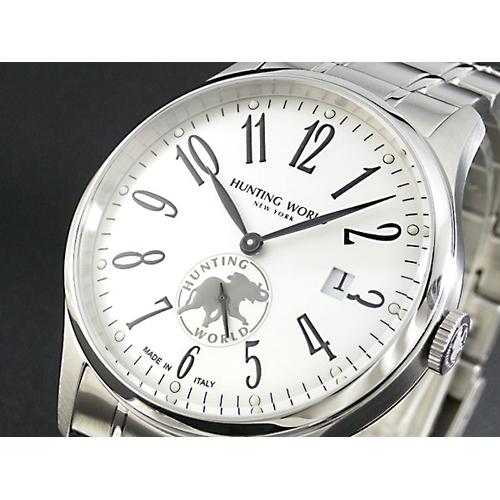 ハンティングワールド HUNTING WORLD ウィリアム ジャンクション 腕時計 HW012SI