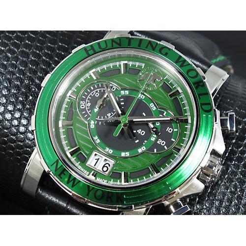 ハンティングワールド HUNTING WORLD イリス 腕時計 HW913GR