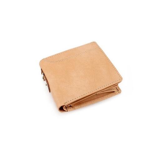 イギンボトム IGGINBOTTOM×サラマンダー 二つ折り 短財布 IG-703-BE ベージュ