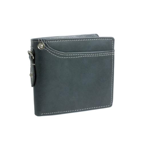 イギンボトム IGGINBOTTOM 二つ折り 短財布 IG-703-BK ブラック