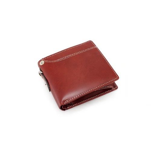 イギンボトム IGGINBOTTOM×サラマンダー 二つ折り 短財布 IG-703-BR ブラウン
