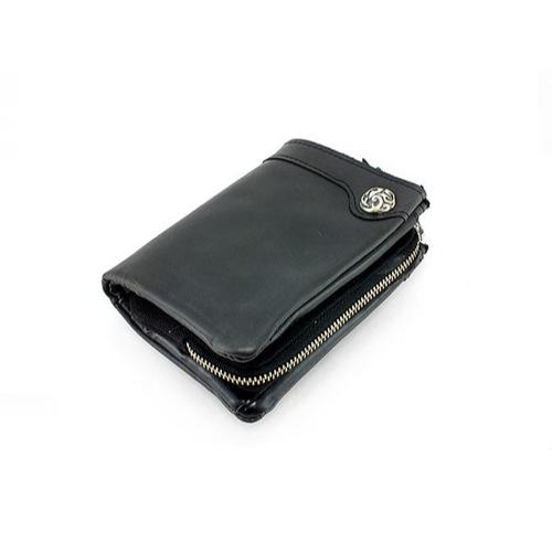 イギンボトム IGGINBOTTOM 二つ折り 短財布 IG-900-BK ブラック
