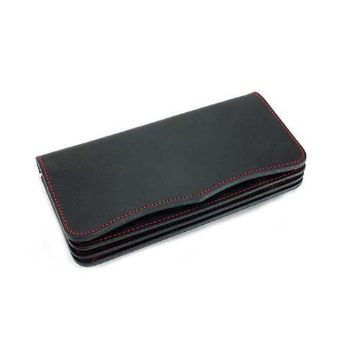 イギンボトム IGGINBOTTOM メンズ 国産高級ヌメ革 長財布 IGO-101-BK ブラック