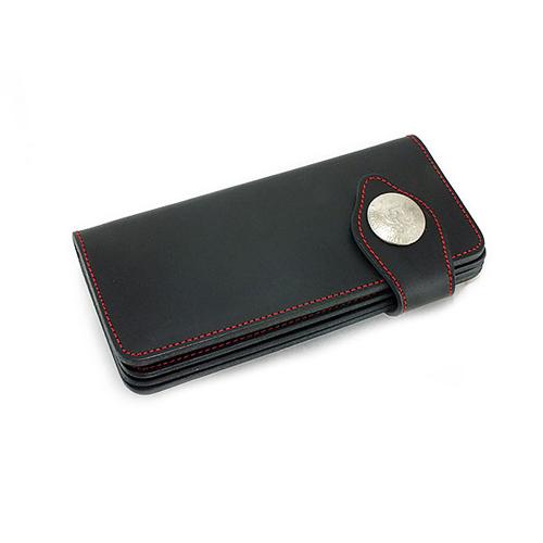 イギンボトム IGGINBOTTOM メンズ 二つ折り 短財布 メンズ IG-112BK ブラック