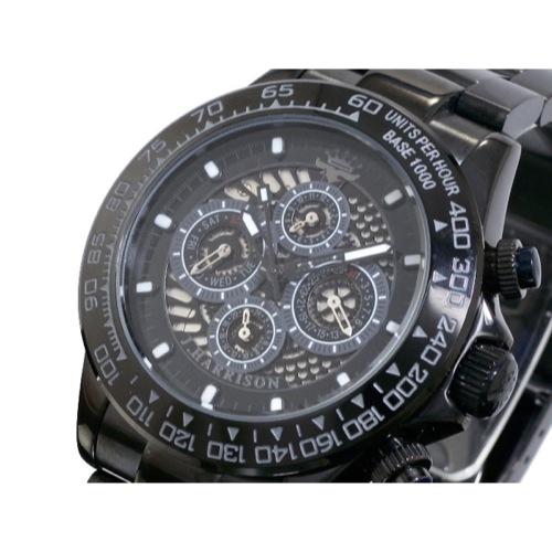 ジョンハリソン JOHN HARRISON 自動巻き 腕時計 JH002-BKBK-N