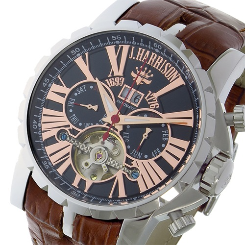 ジョンハリソン 自動巻き メンズ 腕時計 JH033PK></a><p class=blog_products_name