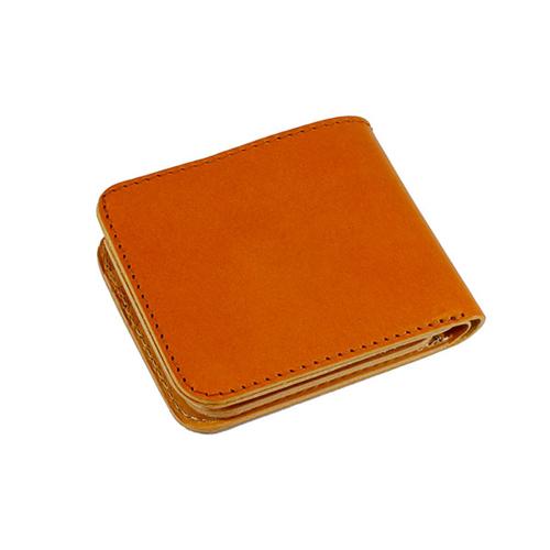ファイナル FINAL 栃木レザー 二つ折り短財布 JP-2000CA キャメル