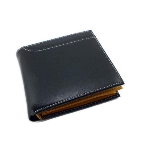 ジョンハリソン JOHN HARRISON 二つ折り 短財布 JWT-012CBK ブラック