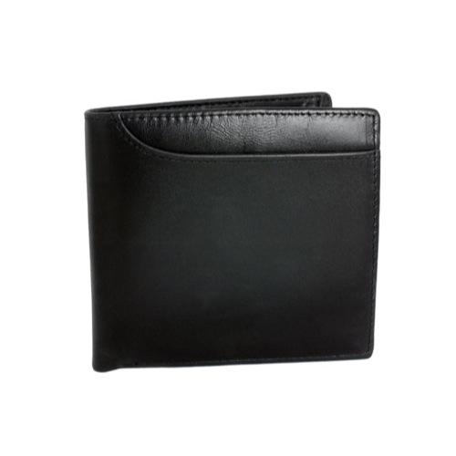 ジョンハリソン JOHN HARRISON 二つ折り 短財布 JWT-017-BLACK ブラック