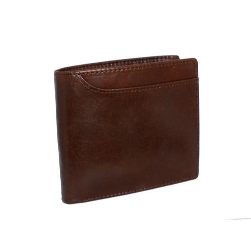 ジョンハリソン JOHN HARRISON 二つ折り 短財布 JWT-017-COFFEE コーヒー