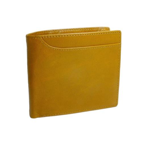 ジョンハリソン JOHN HARRISON 二つ折り 短財布 JWT-017-YELLOW イエロー