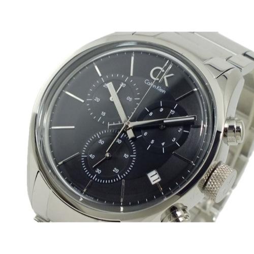カルバン クライン CALVIN KLEIN クロノグラフ 腕時計 K2H27104 ブラック