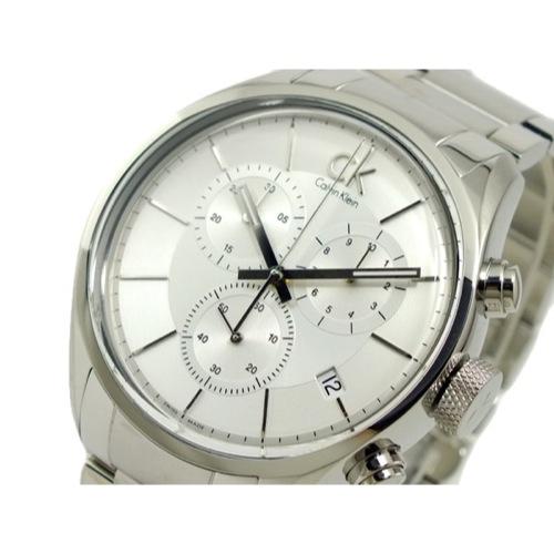 カルバン クライン CALVIN KLEIN クロノグラフ 腕時計 K2H27126 シルバー