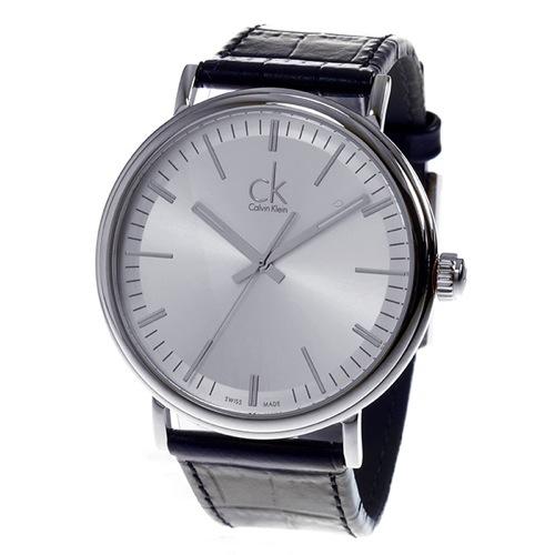 カルバン クライン CALVIN KLEIN クオーツ メンズ 腕時計 K3W211C6 シルバー