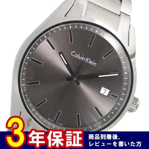 カルバンクライン クオーツ メンズ 腕時計 K4M21143 グレー></a><p class=blog_products_name