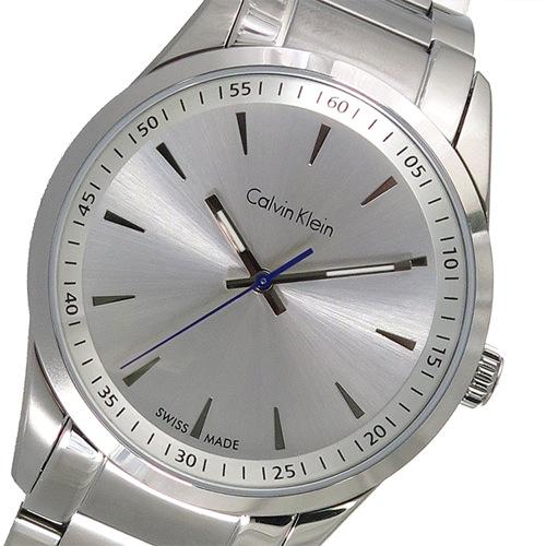 カルバンクライン クオーツ メンズ 腕時計 K5A31146 シルバー