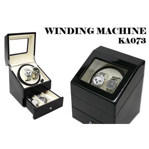ワインダー/ワインディングマシーン 2本巻き KA073 ブラック