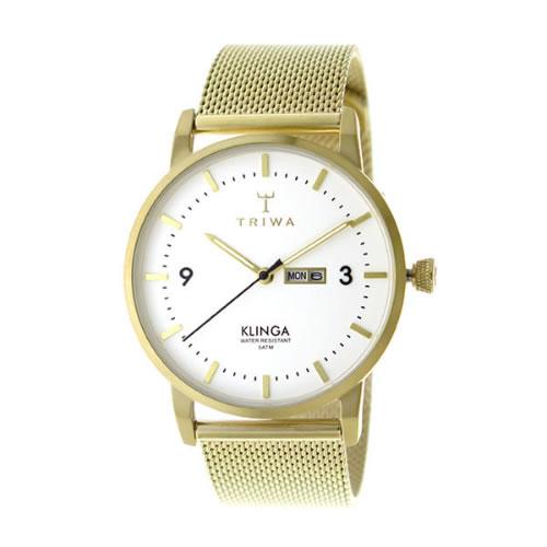 トリワ クオーツ ユニセックス 腕時計 KLST103-ME021313 ホワイト></a><p class=blog_products_name