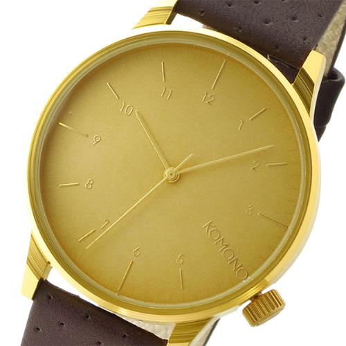 コモノ クオーツ メンズ 腕時計 KOM-W2001 ゴールド></a><p class=blog_products_name