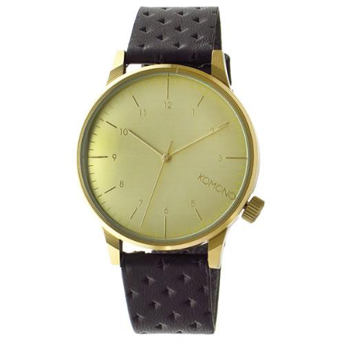 コモノ クオーツ メンズ 腕時計 KOM-W2002 ゴールド></a><p class=blog_products_name
