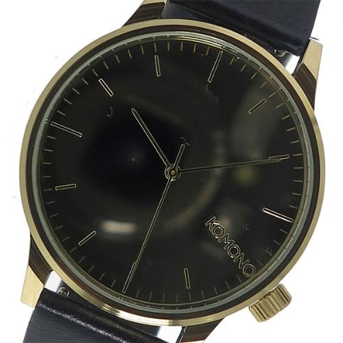コモノ クオーツ メンズ 腕時計 KOM-W2891 ゴールド></a><p class=blog_products_name