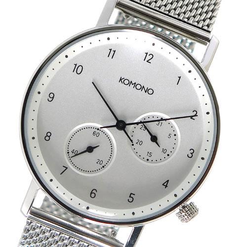 コモノ クオーツ メンズ 腕時計 KOM-W4020 ホワイト></a><p class=blog_products_name