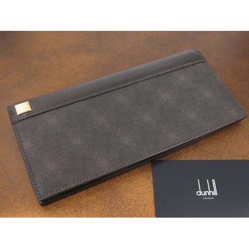 ダンヒル DUNHILL ディーエイト メンズ 長財布 ファスナー付き L2H710B