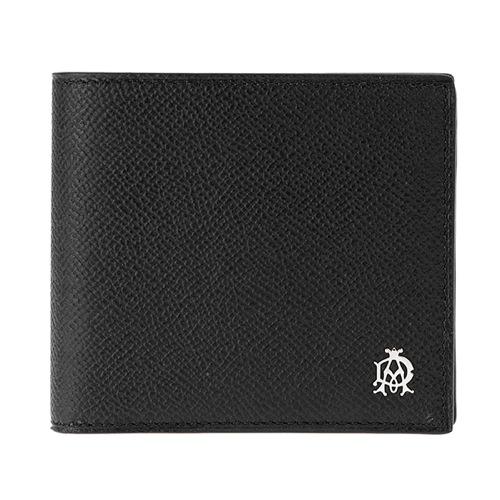 ダンヒル メンズ 二つ折り 短財布 L2X232A ブラック