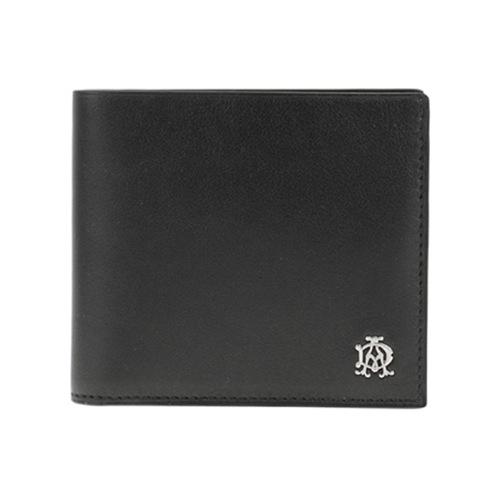 ダンヒル DUNHILL 二つ折り短財布 メンズ L2XR32A ブラック