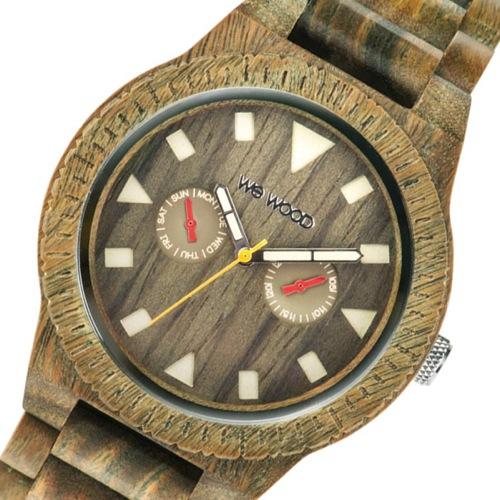 ウィーウッド WEWOOD 木製 メンズ 腕時計 LEO-ARMY アーミー 国内正規