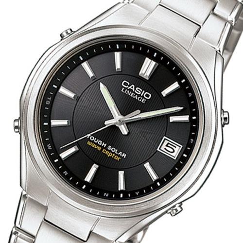 カシオ リニエージ 電波 ソーラー 腕時計 LIW-120DEJ-1AJF ブラック 国内正規