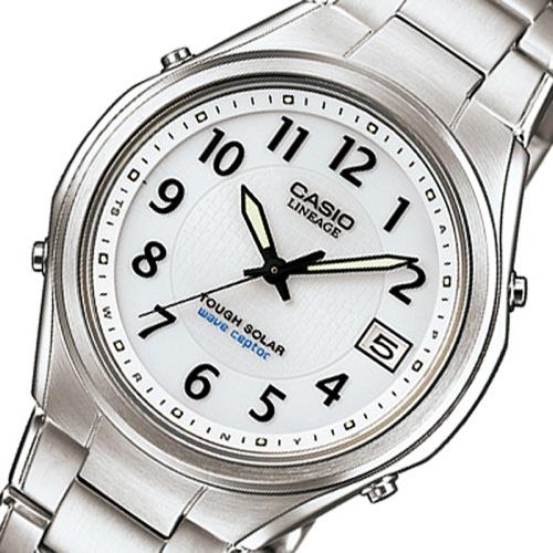 カシオ リニエージ 電波 ソーラー 腕時計 LIW-120DEJ-7A2JF ホワイト 国内正規
