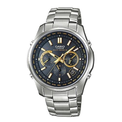 カシオ リニエージ 電波 ソーラー 腕時計 LIW-M610TDS-1A2JF ブラック 国内正規